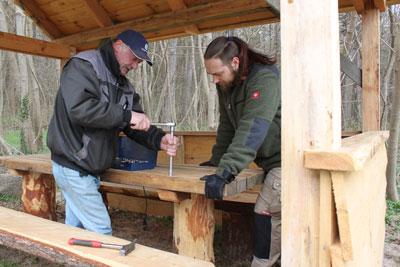 Ranger_Bau_Wetterschutzhütte